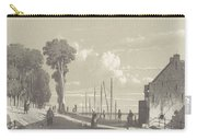 View The Veerweg Culemborg, Jan Weissenbruch, 1847 - 1865 Carry-all Pouch