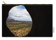 View Through A Portal, Sedona, Arizona Carry-all Pouch