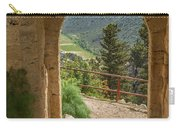 View Through The Castle Door Carry-all Pouch