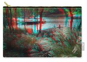 View To The Cove - Use Red-cyan 3d Glasses Carry-all Pouch