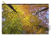 View To The Top Of Beech Trees Carry-all Pouch