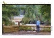 Viewing Tahquamenon Lower Falls Upper Peninsula Michigan Pa Carry-all Pouch