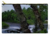 Viewing Tahquamenon Lower Falls Upper Peninsula Michigan Panorama 02 Carry-all Pouch