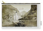 Views Of Switzerland And The Border Of Italy Carry-all Pouch
