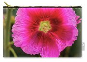 Vigenetted Hollyhock Carry-all Pouch