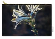 Vignetted Ajo Lily Carry-all Pouch