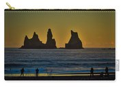 Vik Sea Stacks At Dusk - Iceland Carry-all Pouch