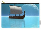 Viking Ship 2 Carry-all Pouch by Corey Ford