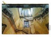Villa Giallo Atmosfera Escher I - Escher Atmosphere I Carry-all Pouch by Enrico Pelos