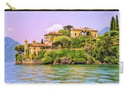 Villa On Lake Como Carry-all Pouch