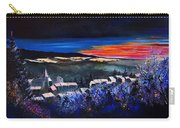 Village In A Winter Morninglight Carry-all Pouch