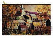 Village In Fall Carry-all Pouch