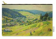 Village In The Foothills Carry-all Pouch
