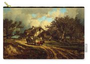 Village Landscape 1844 Carry-all Pouch