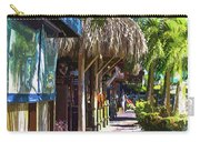 Village Life II - Siesta Key Carry-all Pouch