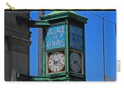 Village Of Elmore Clock-vertical Carry-all Pouch