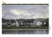 Village Of Spay Germany And Marksburg Castle Carry-all Pouch