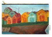 Village On The Coast Carry-all Pouch