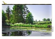 Village Pond At Tissington Carry-all Pouch