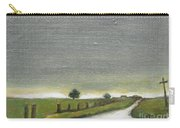 Village Road In The Twilight  Carry-all Pouch