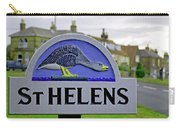 Village Sign - St Helens Carry-all Pouch