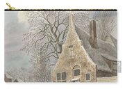 Village Under Snow, Johannes Christiaan Janson, 1773 - 1823 Carry-all Pouch