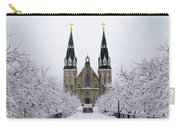 Villanova University After Snow Fall Carry-all Pouch