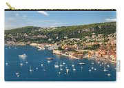 Villefranche-sur-mer And Cap De Nice On French Riviera Carry-all Pouch