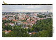 Vilnius Panorama From The Hill Of Three Crosses Carry-all Pouch