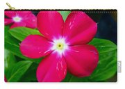 Vinca Flower Carry-all Pouch