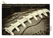 Vince Lombardi Quote Carry-all Pouch