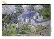 Vincent Van Gogh, Houses At Auvers Carry-all Pouch
