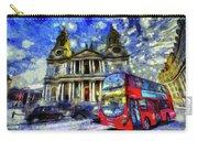 Vincent Van Gogh London Carry-all Pouch