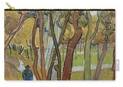 Vincent Van Gogh, The Garden Of Saint Paul's Hospital Carry-all Pouch