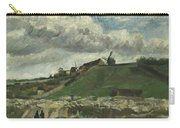 Vincent Van Gogh, The Hill Of Montmartre With Stone Quarry, Paris Carry-all Pouch