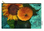 Vincent's Sunflowers 2 Carry-all Pouch