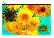 Vincent's Sunflowers 4 Carry-all Pouch