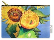 Vincent's Sunflowers Carry-all Pouch
