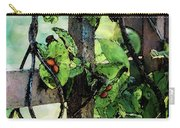 Vine And Trellis Digital Watercolor 4472 W_2 Carry-all Pouch