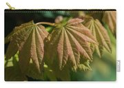 Vine Maple Leaves Carry-all Pouch