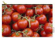 Vine Ripe Tomatos Carry-all Pouch by John Trax