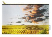 Vineard Aglow Carry-all Pouch by Sharon Foster