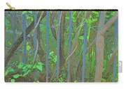 Vines Abstract IIi Carry-all Pouch