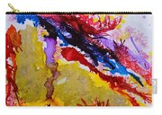 Vines And Glow Abstract Carry-all Pouch