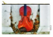 Vines And Violin Carry-all Pouch