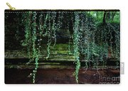 Vines Flow Over Creek Carry-all Pouch