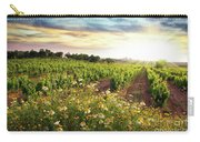 Vineyard Carry-all Pouch by Carlos Caetano