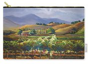 Vineyard In California Carry-all Pouch