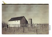Vineyard In Winter Carry-all Pouch