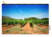 Vineyard Rows Carry-all Pouch